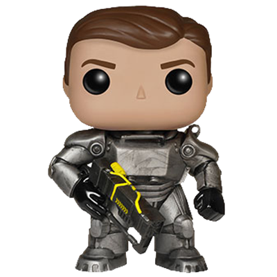 Funko Pop! Games Power Armor (Unmasked)