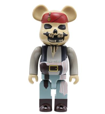 Be@rbrick Disney Pirates of the Caribbean (At World's End) 1000% Icon