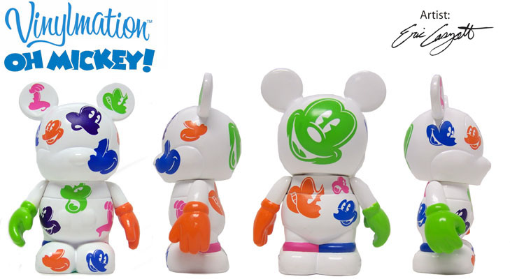 Vinylmation Open And Misc Oh Mickey! White