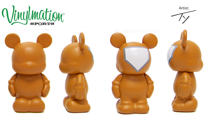 Vinylmation Open And Misc Sports Jr. Home Plate