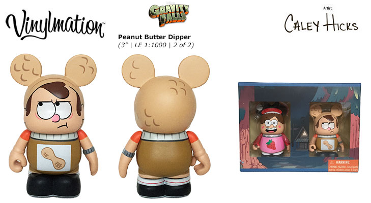 Vinylmation Open And Misc Gravity Falls Peanut Butter Dipper
