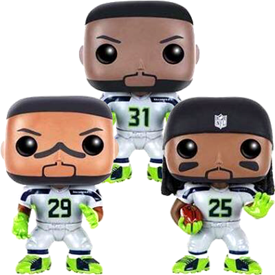 Funko Pop! Football Legion of Boom (3-Pack)
