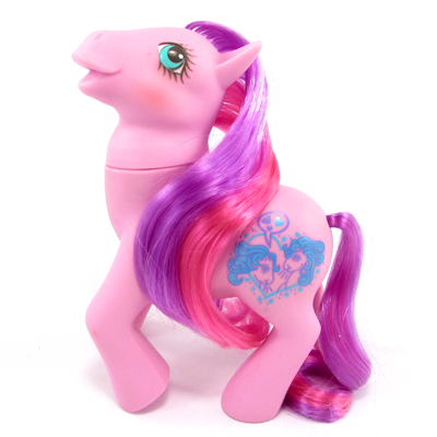 My Little Pony Year 10 Pink pony (UK - Chatterbox)