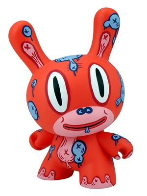 "Kid Robot 8"" Dunnys MOD (Red)"