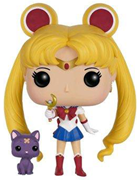 Funko Pop! Animation Sailor Moon (w/ Moon Stick & Luna)