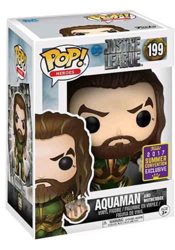 Funko Pop! Heroes Aquaman (Justice League) - w/ Motherbox Stock Thumb