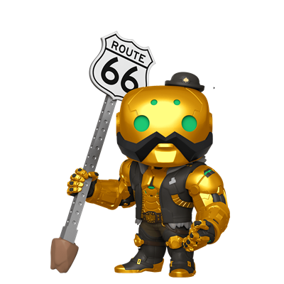 "Funko Pop! Games 6"" B.O.B. (Gold)"