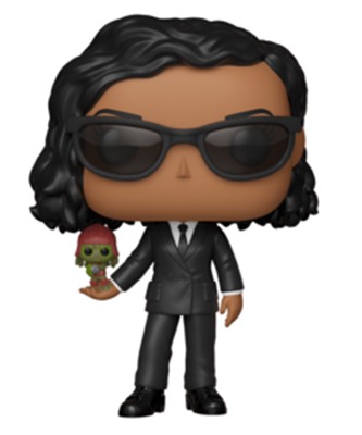 Funko Pop! Movies Agent M & Pawny Icon