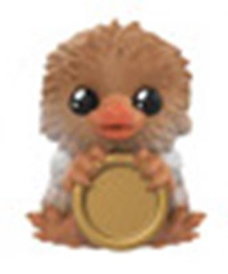 Mystery Minis Fantastic Beasts Baby Niffler Tan w/ coin