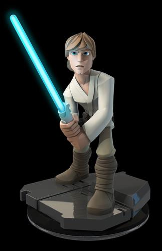 Disney Infinity Figures Star Wars Luke Skywalker (Light FX)