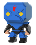 Funko Pop! 8-Bit Foot Soldier (Blue)