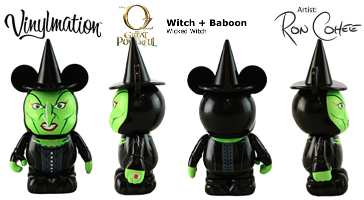 Vinylmation Open And Misc Witch Baboon Wicked Witch