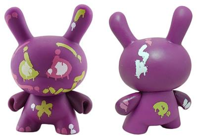 Kid Robot French Dunny Series 2008 Mist Icon