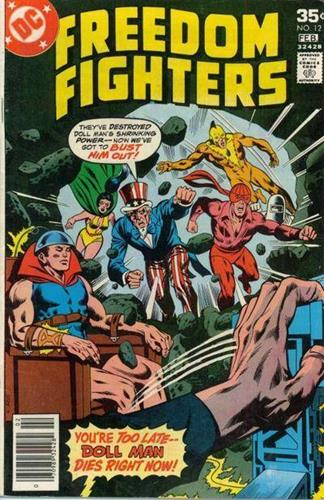 DC Comics Freedom Fighters (1976) Freedom Fighters (1976) #12 Stock