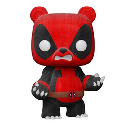Funko Pop! Marvel Deadpool (Panda) -  Flocked Chase