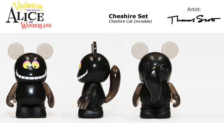 Vinylmation Open And Misc Alice In Wonderland Cheshire Cat (invisible)