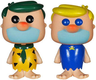 Funko Pop! Animation Fred & Barney (Green/Yellow Hair)