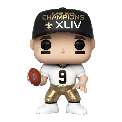 Funko Pop! Football Drew Brees (White Jersey)