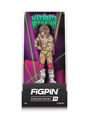 FiGPin WWE: Legends Ultimate Warrior Stock