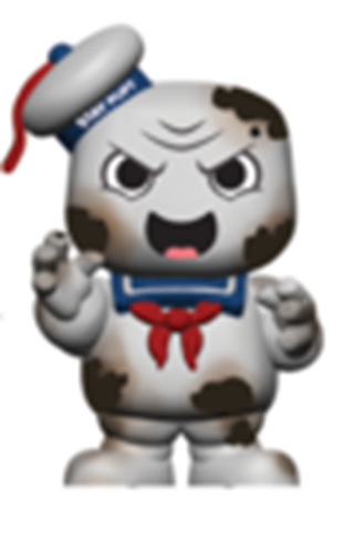 Mystery Minis Ghostbusters Burnt Stay Puft Marshmallow Man