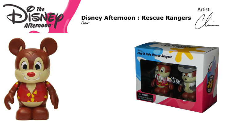Vinylmation Open And Misc Disney Afternoon Dale