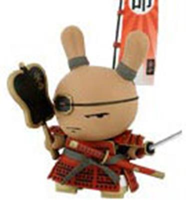 "Kid Robot 8"" Dunnys Shogun (Red)"