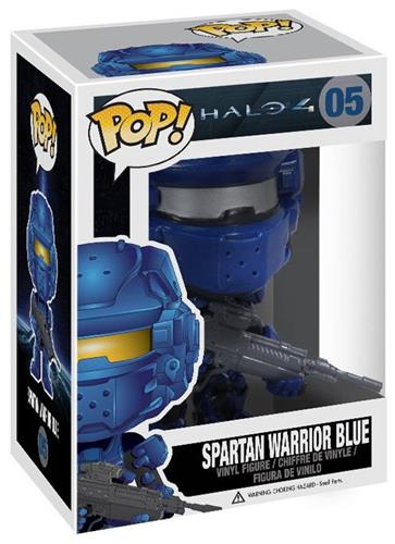 Funko Pop! Halo Spartan Warrior Blue Stock Thumb
