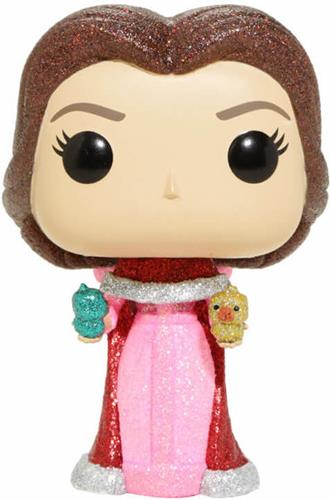 Funko Pop! Disney Belle (Winter) - Diamond Icon