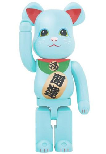 Be@rbrick Maneki Neko Maneki Neko Blue (GITD) 1000% Icon Thumb