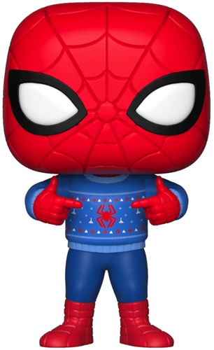 Funko Pop! Marvel Spider Man (Christmas Sweater)