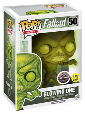 Funko Pop! Games Feral Ghoul (Glowing One) Stock