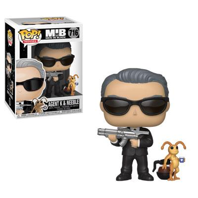 Funko Pop! Movies Agent K and Neeble