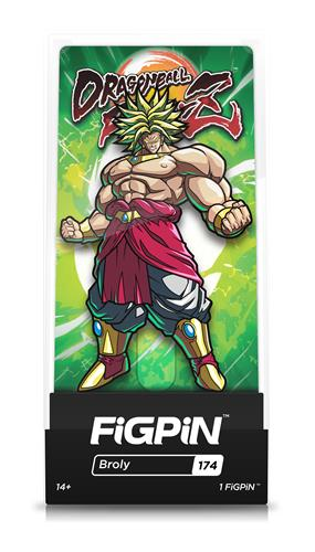 FiGPin Dragon Ball FighterZ Broly Stock