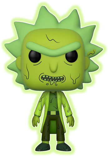 Funko Pop! Animation Rick (Toxic Glow)