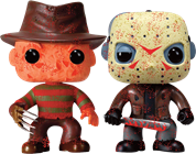 Funko Pop! Movies Freddy Krueger / Jason Voorhees (Bloody)