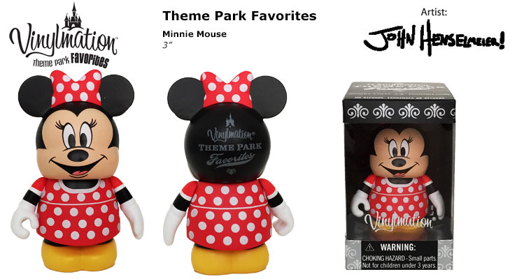 Vinylmation Open And Misc Theme Park Favorites Minnie Mouse