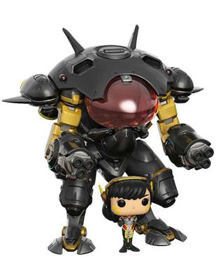 Funko Pop! Games D.VA with MEKA (Carbon Fiber)