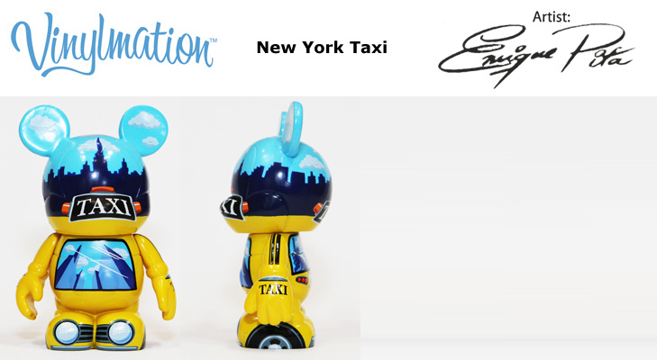 Vinylmation Open And Misc City New York Taxi