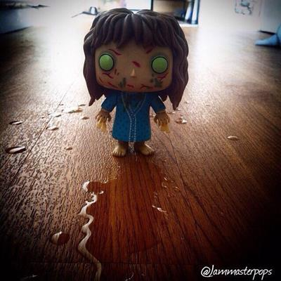 Funko Pop! Movies Regan (The Exorcist) jammasterpops on instagram.com