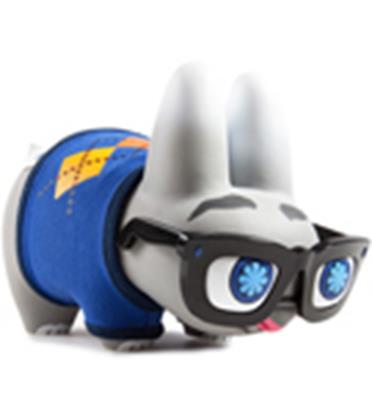 Kid Robot Labbits Blue Pipken Stock