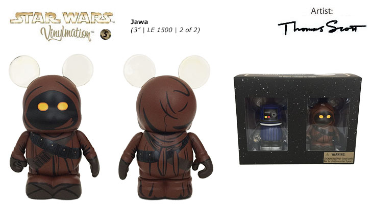Vinylmation Open And Misc Star Wars 5 Jawa