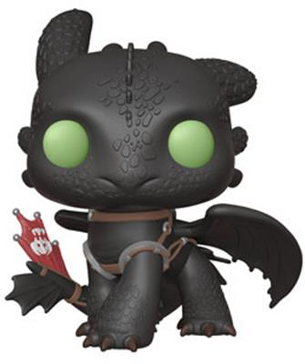 "Funko Pop! Movies Toothless - 10"" Icon Thumb"