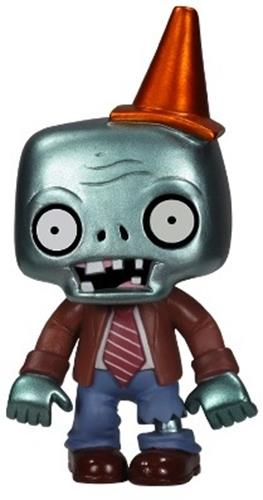 Funko Pop! Games Zombie (Conehead) - Metallic
