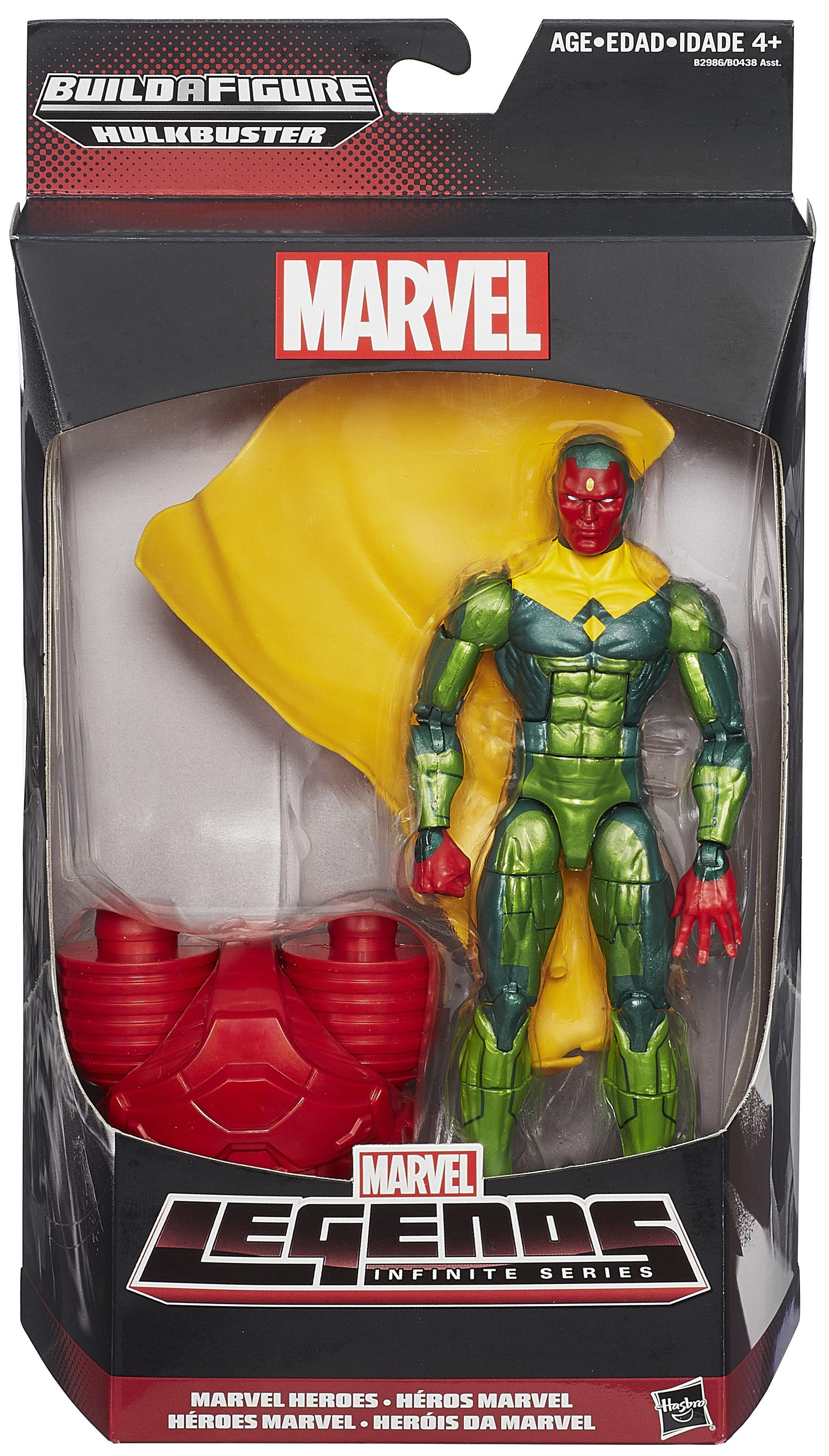 Marvel Legends Hulkbuster (Infinite Series) Vision