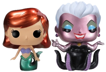Funko Pop! Disney Ariel & Ursula (Metallic)