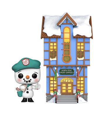Funko Pop! Town Frosty Franklin with Post Office