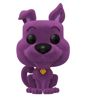 Funko Pop! Animation Scooby-Doo (Flocked) Purple Icon