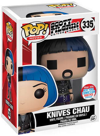 Funko Pop! Movies Knives Chau (Digital) Stock