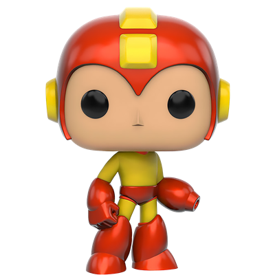 Funko Pop! Games Mega Man (Fire Storm)
