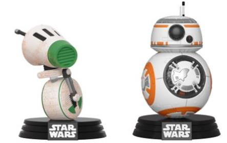 Funko Pop! Star Wars D-0 & BB-8 (2-Pack)
